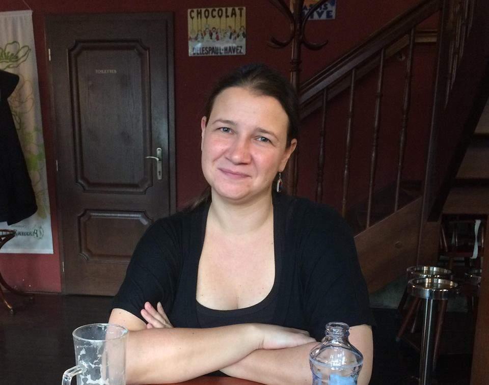 Dominika Najvert organizátorka akce Noc venku na podporu lidí bez domova