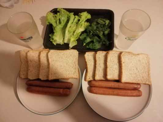 Jednoduchá a rychlá večeře.