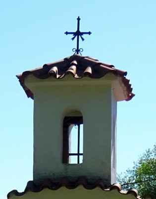 Bašť - kaple se zvoničkou Baštěk - A2 - Pozdně barokní kaple se zvoničkou stojí  na návsi v Baštěku. Úpravy kaple byly provedeny ve 20. století.