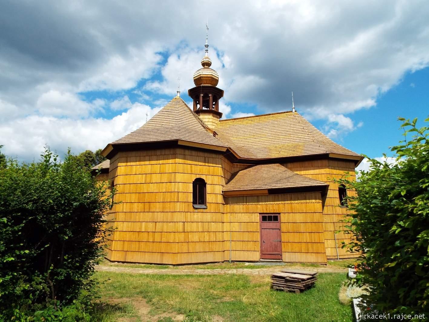 Velké Karlovice - Kostel Panny Marie Sněžné 05 - boční pohled