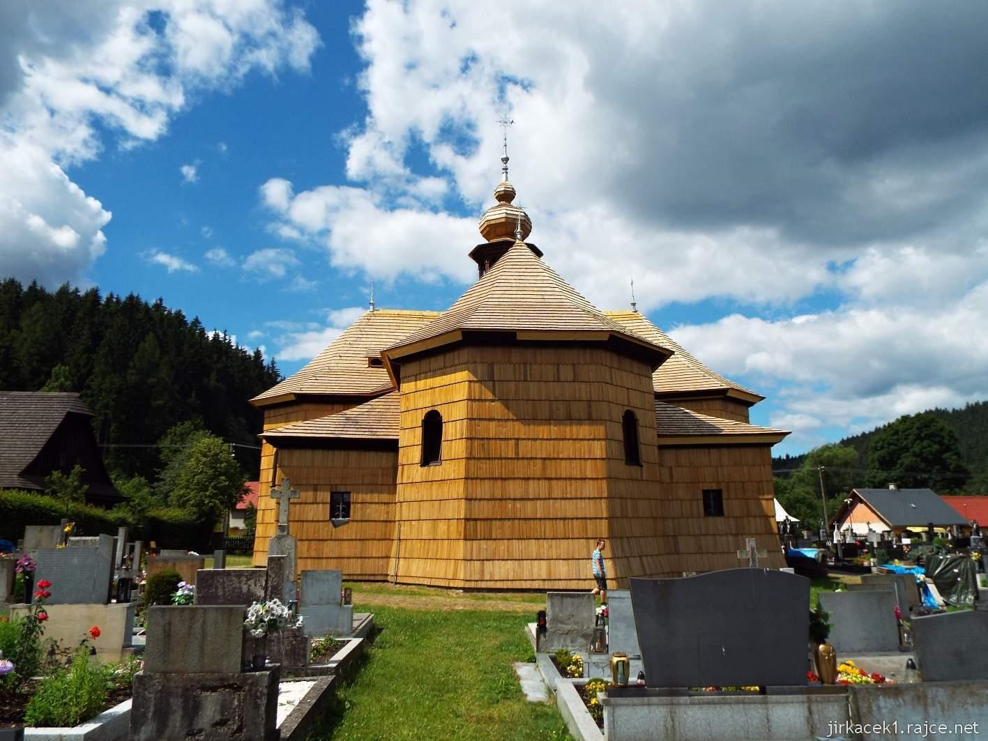 Velké Karlovice - Kostel Panny Marie Sněžné 06 - zadní pohled