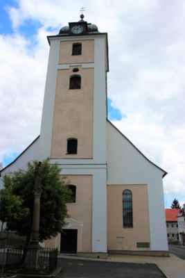 Kovářská - Kostel svatého Michaela Archanděla, barokní stavba z let 1709 - 1710. Jednolodní budova s trojbokým uzávěrem.