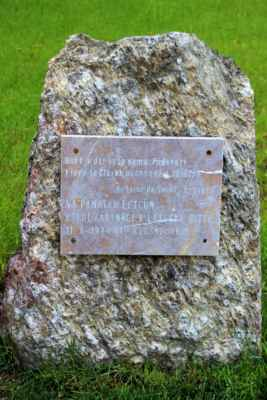 Pomník letcům, kteří zahynuli 11. září 1944. nad krušnohořím.
