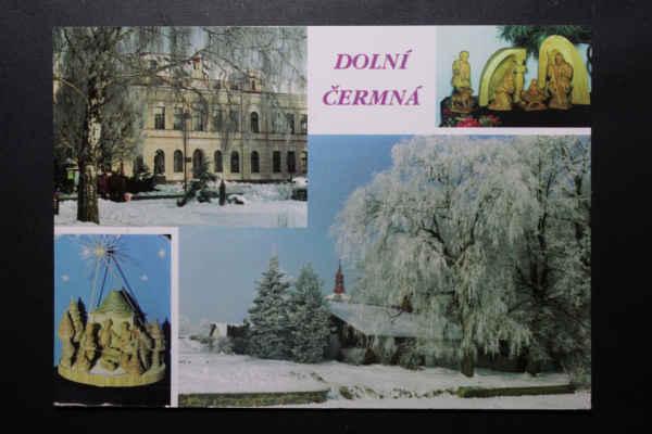 Dolní Čermná na pohlednicích
