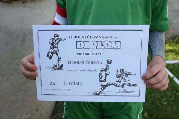 Turnaj starší fotbalové přípravky 13.10.2018