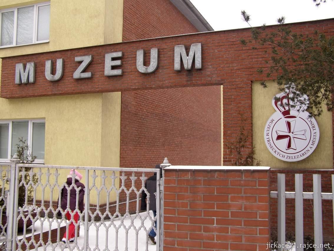 Muzeum Třineckých železáren 01 - vchod