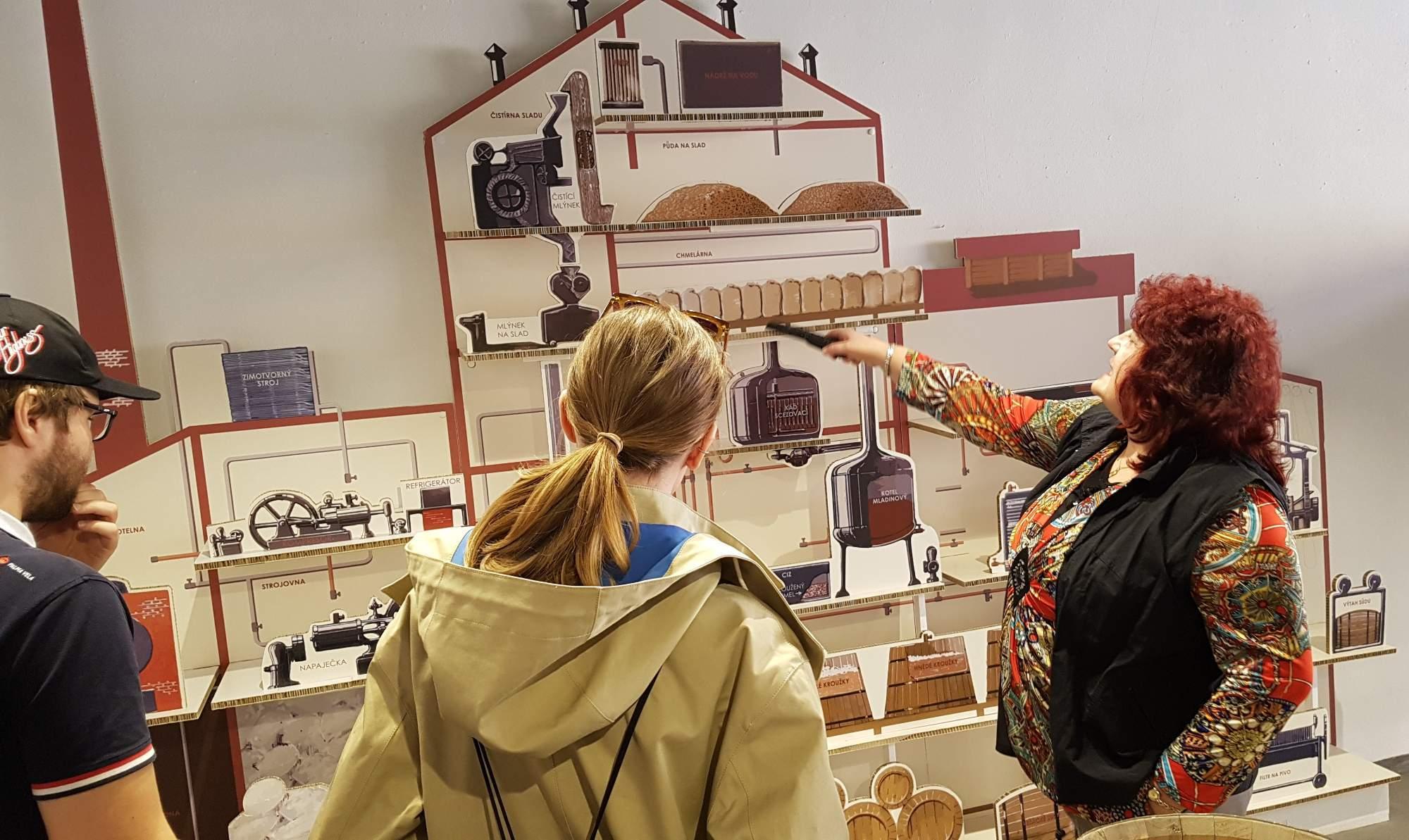 Ve Znojmě je od 18. března expozice pivovarnictví otevřená celý rok. Foto: Anežka Horová.
