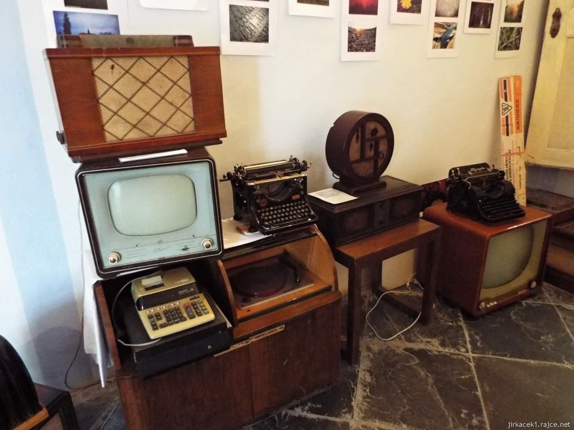 A - zámek Konice 58 - expozice Technika minulého století