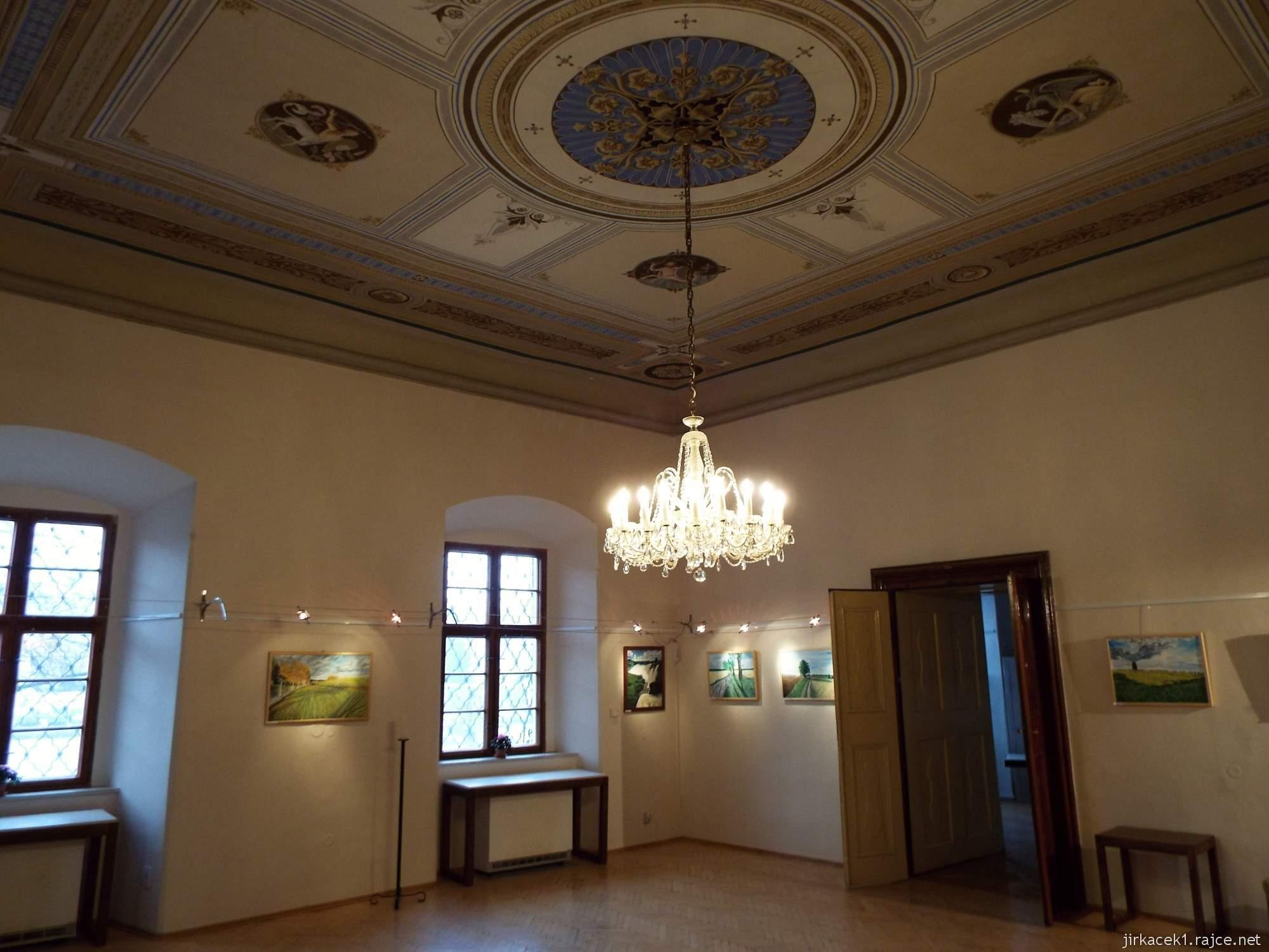 A - zámek Konice 66 - zámecká galerie