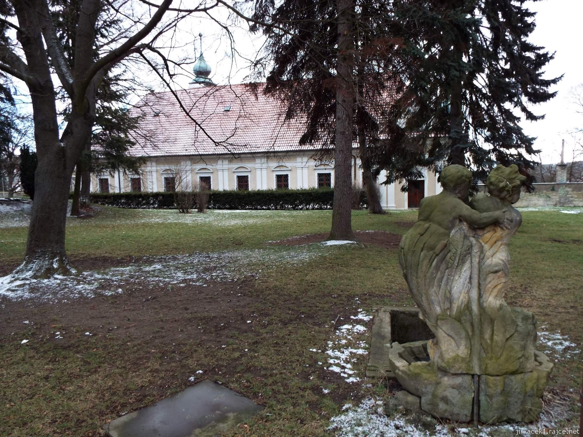 A - zámek Konice 72 - zámecký park