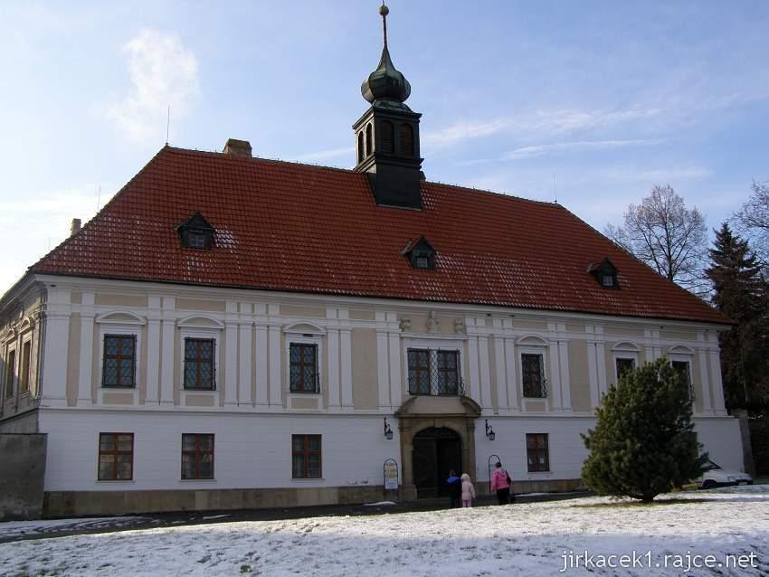 Konice - zámek - zima 2009