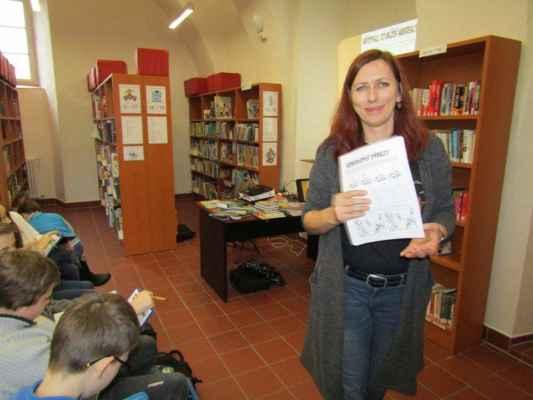 18. ledna 2019 - Workshop se spisovatelkou Klárou Smolíkovou