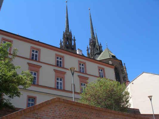 Petrov - - pohled na katedrálu sv. Petra a Pavla