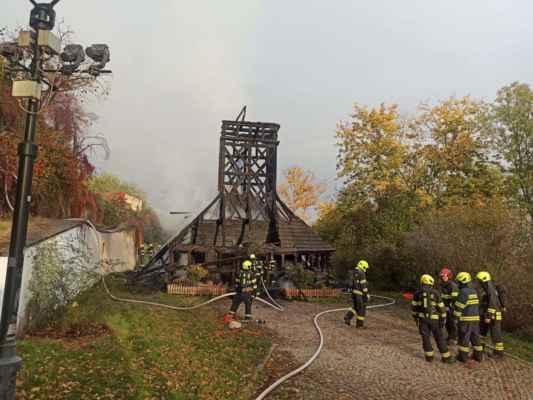 28. října 2020 kostel vyhořel.