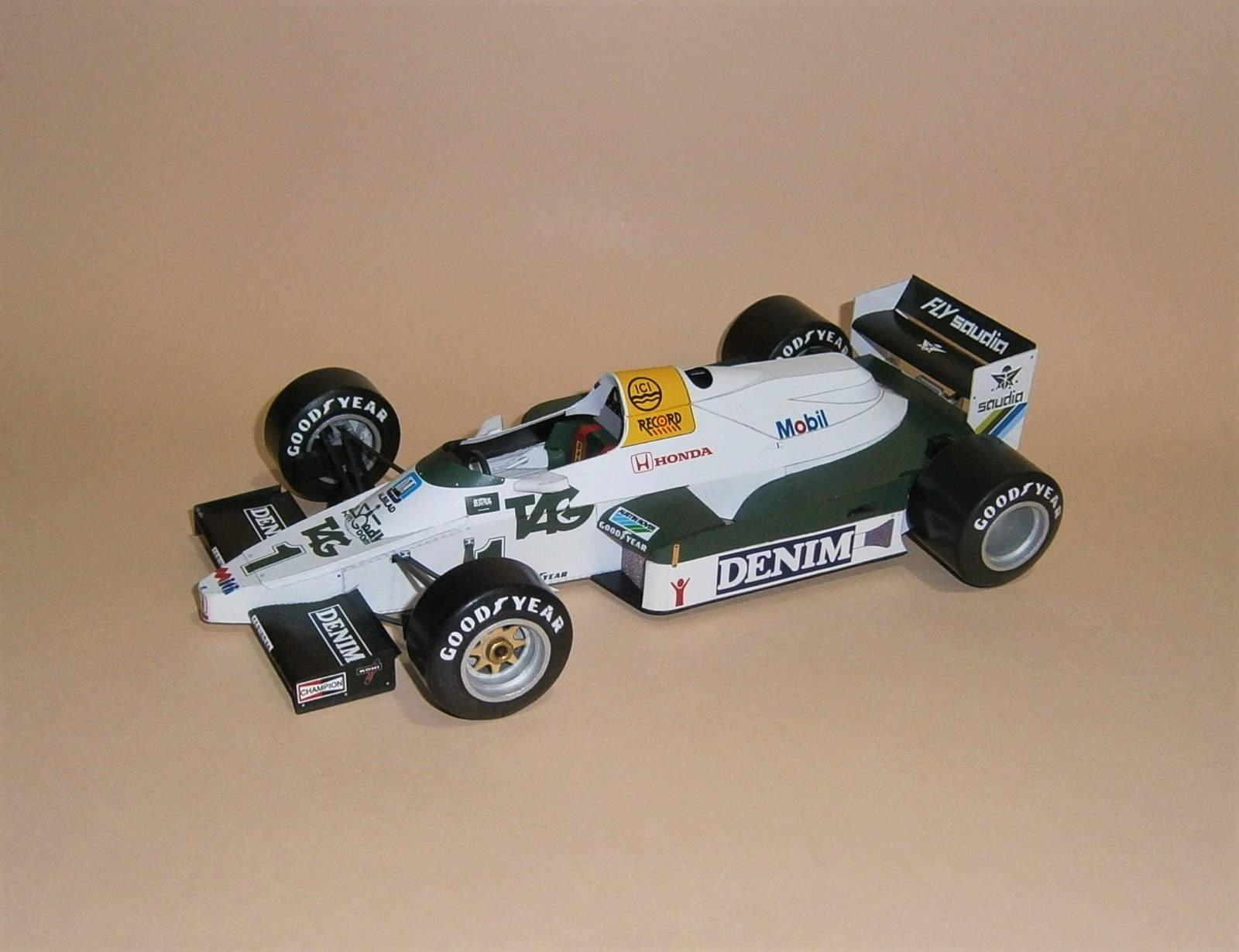 Williams FW09 - K.Rosberg, GP JAR-Kyalami 1983