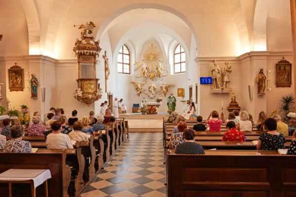 Životní jubileum našeho pana kostelníka